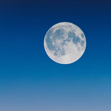 Billede af fuldmåne