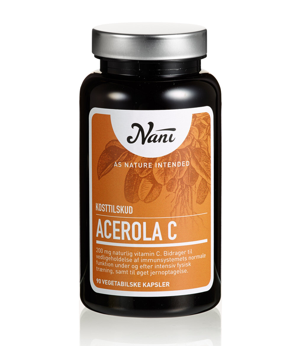 C vitamin kosttilskud fra Nani