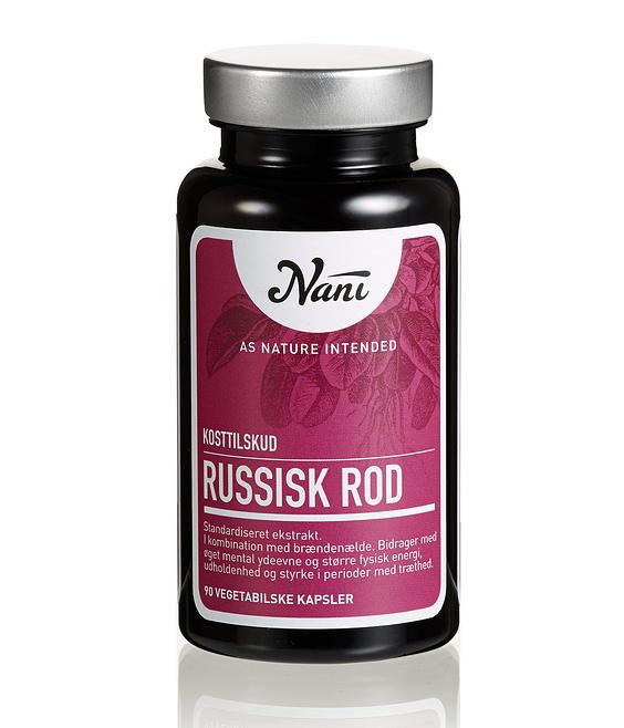 Russik rod Nani kosttilskud