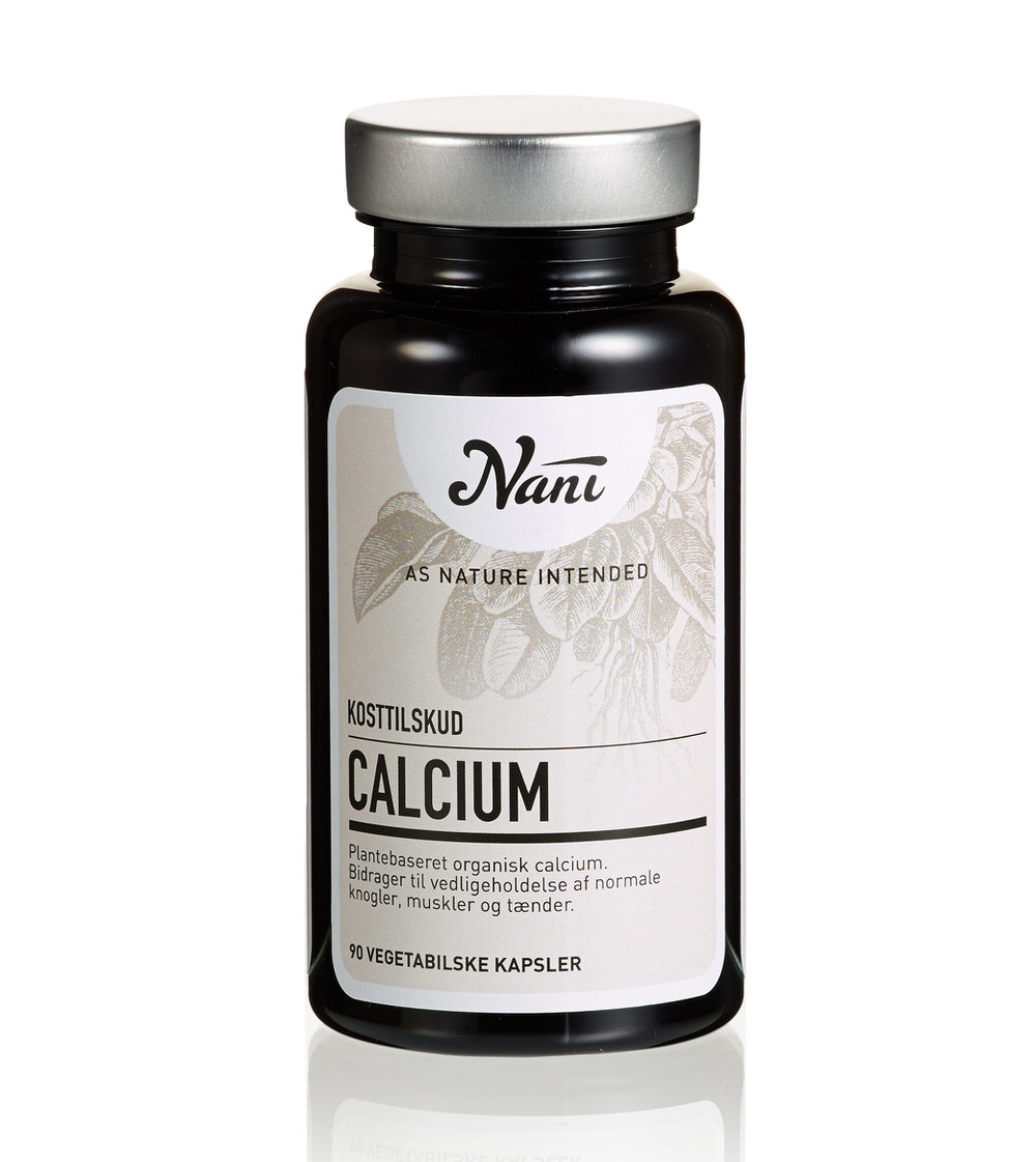 Calcium kosttilskud fra Nani