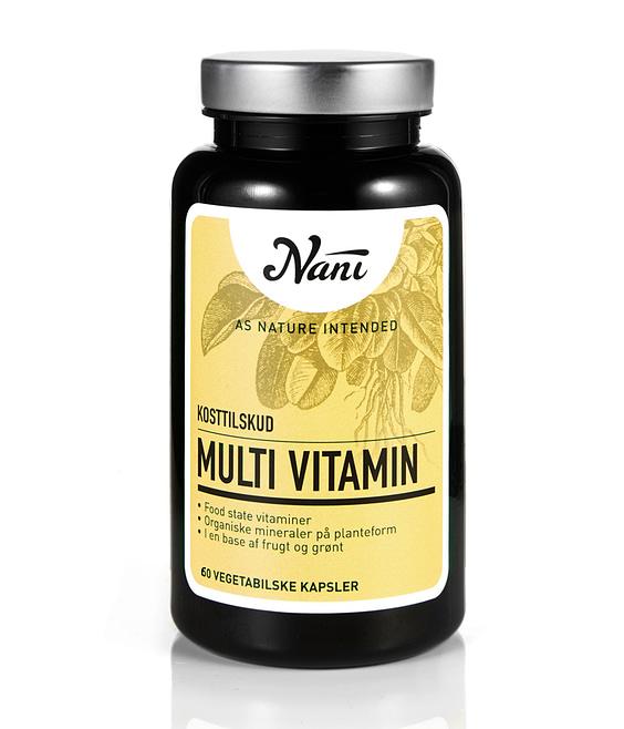 Food state Multivitamin fra Nani til voksne