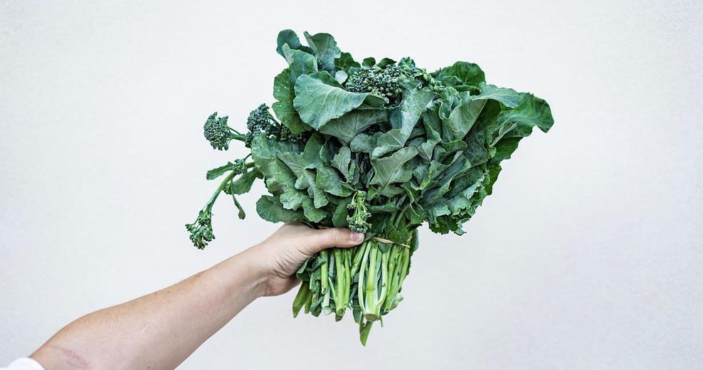 Billede af kål rig på K-vitamin