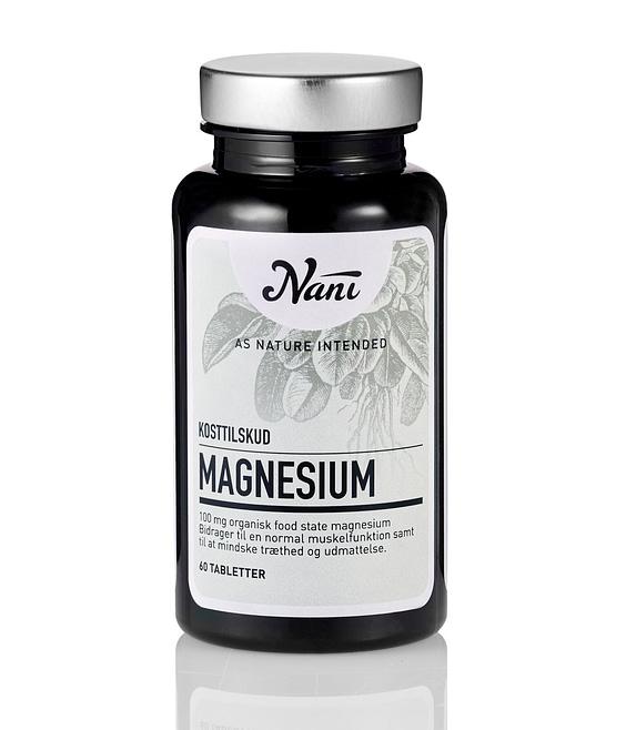 billede af Nani kosttilskud Magnesium