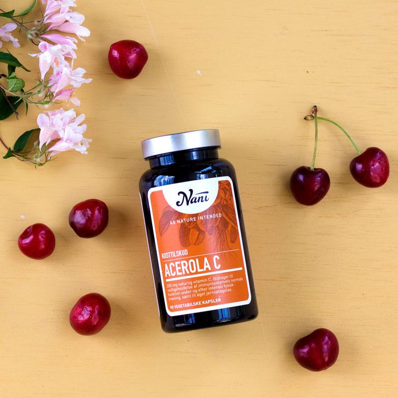 Acerola C vitamin