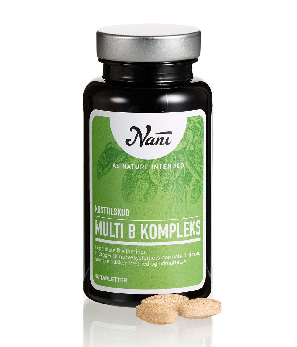 Nani multi B vitamin kompleks