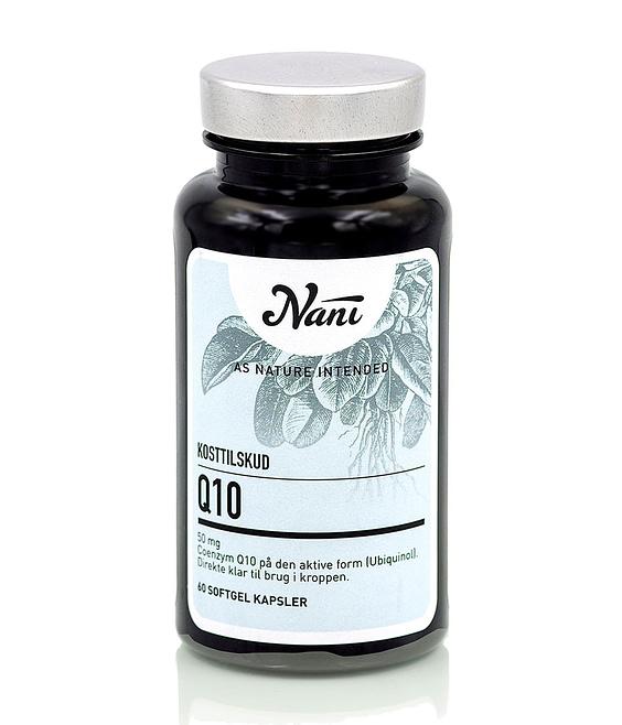 Nani Q10 tilskud Ubiquinol