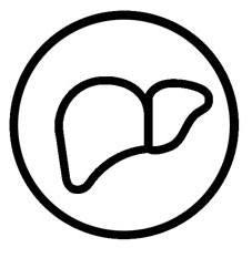 Leveren i et ikon som viser hen til helsepakker og vitaminer